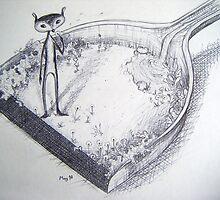 Dustpan Garden by christineduck