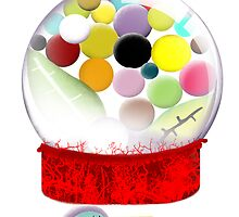 Too sweet candy bird old style bubble gum by Ruth Fitta-Schulz