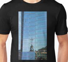 Streetscape Reflections (3), Rio de Janeiro, Brazil.  Unisex T-Shirt