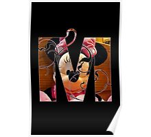 M is for minnie Poster