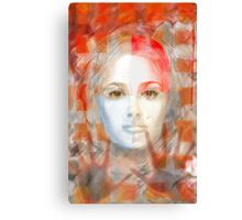The passage fragment - she Canvas Print