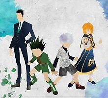 Hunter x Hunter Protagonists by doubleu42