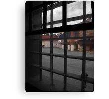 C is for Cell Block Canvas Print