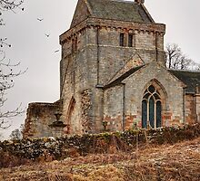 Crichton Collegiate Church by Christine Smith