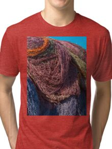 Discarded Fishing nets Tri-blend T-Shirt