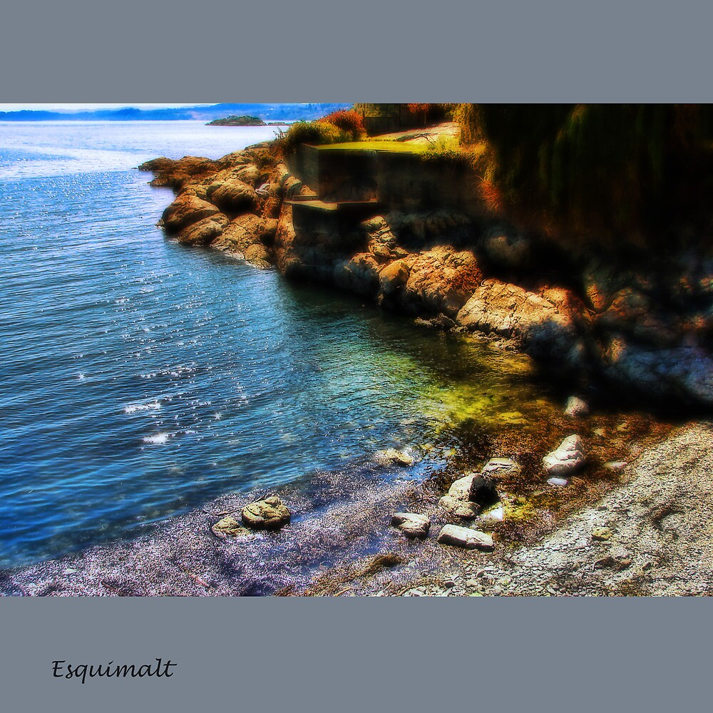 Esquimalt Beach by Nick  Kenrick Photography