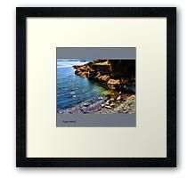Esquimalt Beach Framed Print