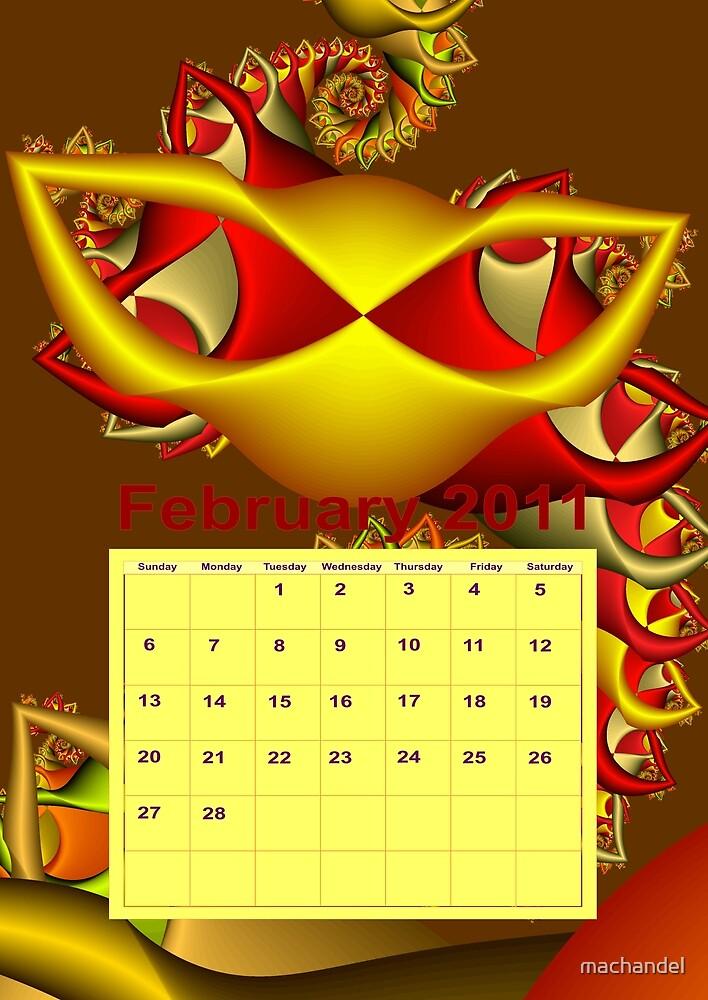 calendar 2011: February by machandel