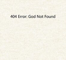404 Error: God Not Found Hoodie