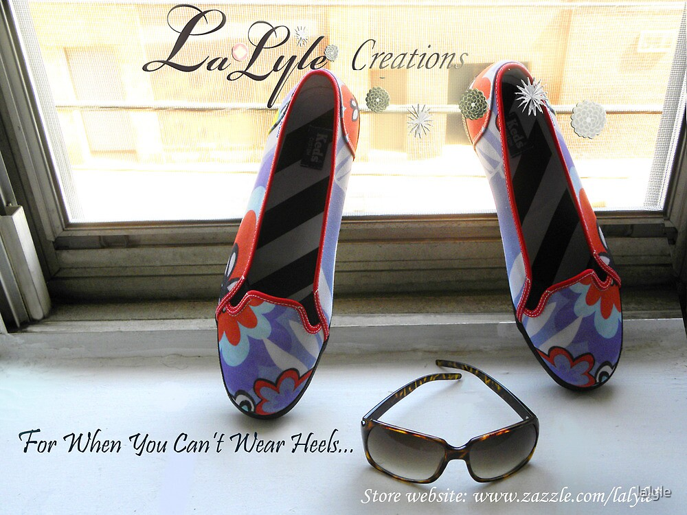 For When You Can't Wear Heels... by lalyle