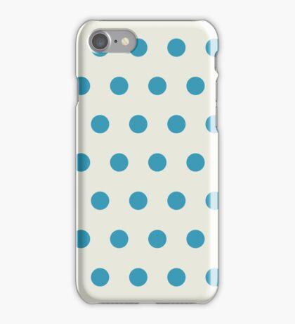Retro dots iPhone Case/Skin