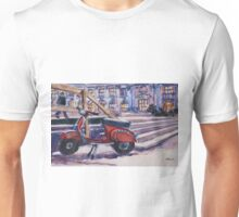 The Red Vespa Unisex T-Shirt