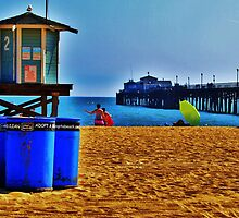Station #2, Seal Beach, California by Stephen Burke