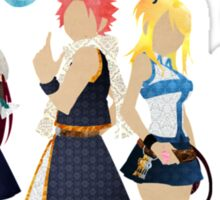 The Protagonists - Fairy Tail  Sticker