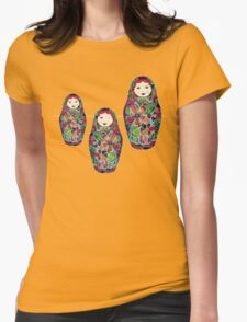Middle Kid Womens Fitted T-Shirt