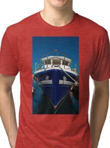 Bow of fishing trawler. Tri-blend T-Shirt
