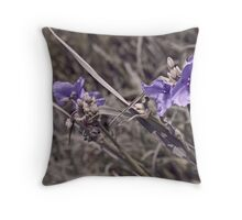 Viewing Purple Throw Pillow
