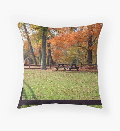Park Peace Throw Pillow