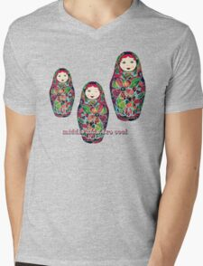 Middle Kids Are Cool Mens V-Neck T-Shirt