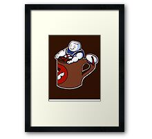 Cup of Stay Puft Framed Print