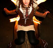 Lindsey Poi Fire Dancer 2 by mikkduncan