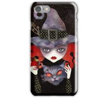 Maelba, the Red Witch iPhone Case/Skin