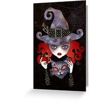 Maelba, the Red Witch Greeting Card