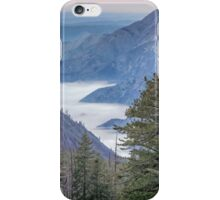 Fog blankets the Valley iPhone Case/Skin