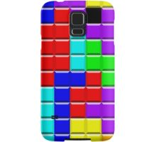 Colorful Tetrominoes Samsung Galaxy Case/Skin