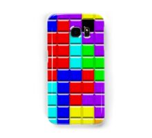 Colorful Tetrominoes Samsung Galaxy Case/Skin