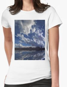 ©The Sun Series XIX Move On With The Wind IIID Womens Fitted T-Shirt
