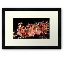 Fantasy Lights Framed Print