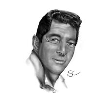 Dean Martin-King of Cool by stevencraigart