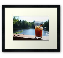 Perfect Saturday Morning Bloody Mary Framed Print