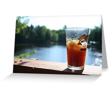 Perfect Saturday Morning Bloody Mary Greeting Card