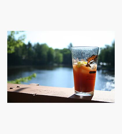 Perfect Saturday Morning Bloody Mary Photographic Print