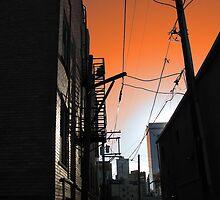 City Alleyway by Brian Rivera