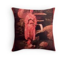 Vintage tag 3 Throw Pillow