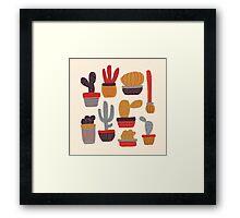 Kaktus Framed Print