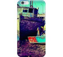 Fishing boat repairs iPhone Case/Skin