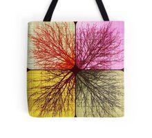 Winter's Tree Quartet Tote Bag