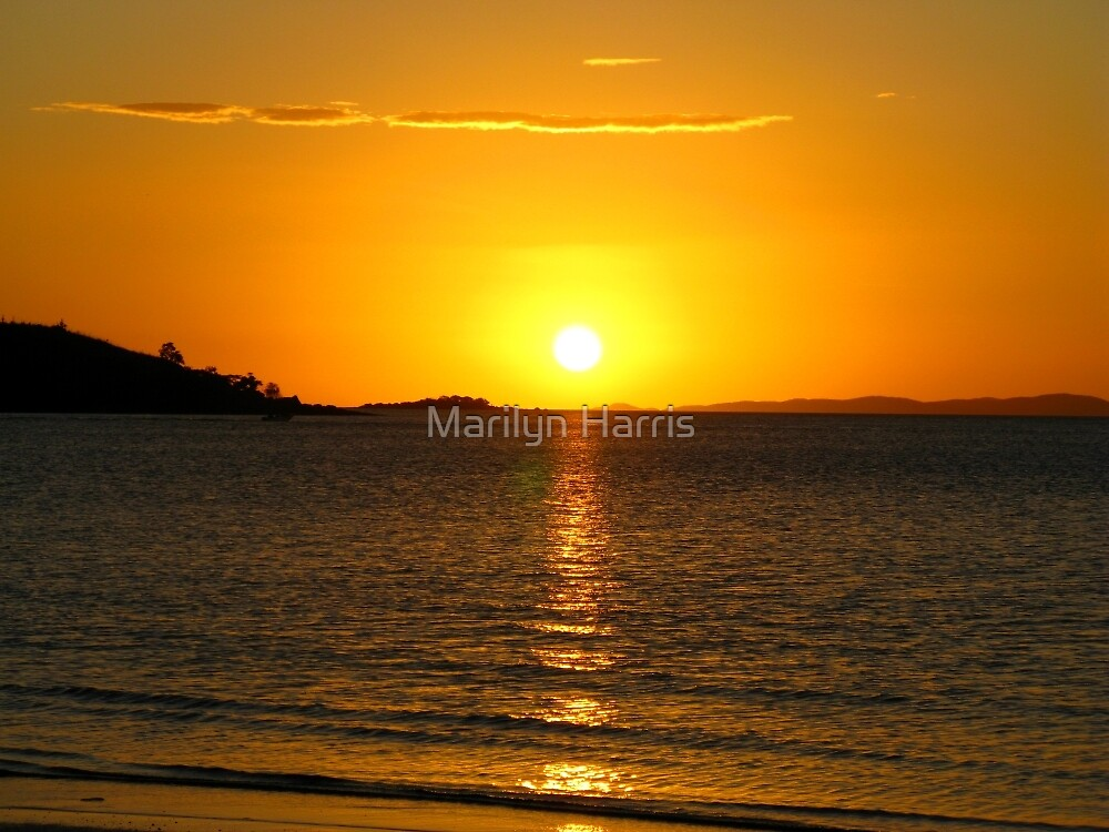 Golden Sunset - Seisa by Marilyn Harris