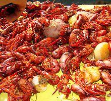 Louisiana Crawfish #2 by Wanda Raines