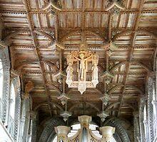 St Davids Cathedral St Davids Wales  by Joyce Knorz