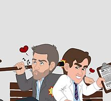 Medical Bromance by A Girl of  Many Fandoms