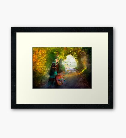 Follow Your Dreams Framed Print