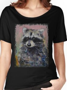 Raccoon Women's Relaxed Fit T-Shirt