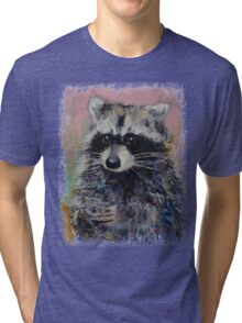 Raccoon Tri-blend T-Shirt
