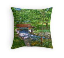 Crystal River Throw Pillow