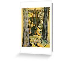 Tree Tunnel - McKell Park Greeting Card